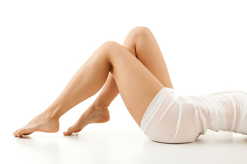 Сексуальная женская ножка