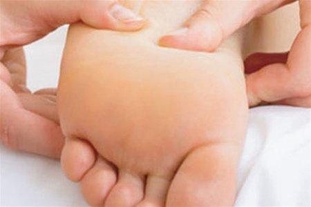 Отки на лице и ногах